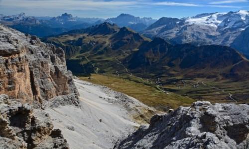 Zdjecie WłOCHY / Trento / Passo Sella / Dolomity