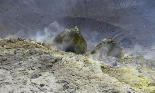 Zdjęcie WłOCHY / Wyspy Liparyjskie / Vulcano / krater