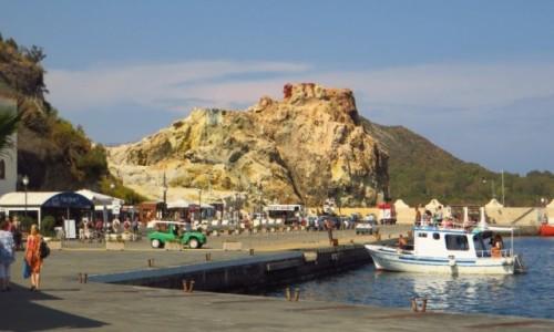 Zdjęcie WłOCHY / Wyspy Liparyjskie / Vulcano / Porto di Levante