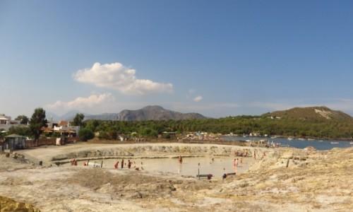 Zdjęcie WłOCHY / Wyspy Liparyjskie / Vulcano / kąpiele błotne