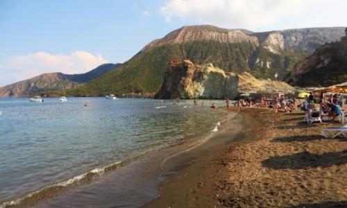 Zdjęcie WłOCHY / Wyspy Liparyjskie / Vulcano / plaża