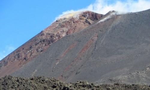 Zdjęcie WłOCHY / Sycylia / Etna / szczyt wulkanu