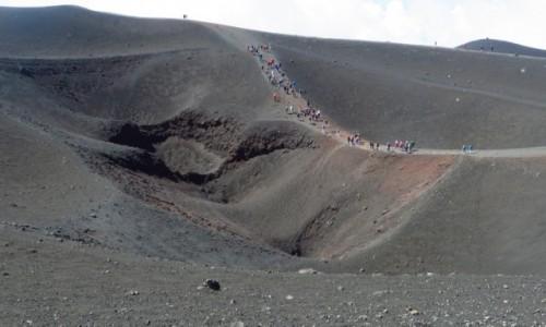 Zdjęcie WłOCHY / Sycylia / Etna / krater