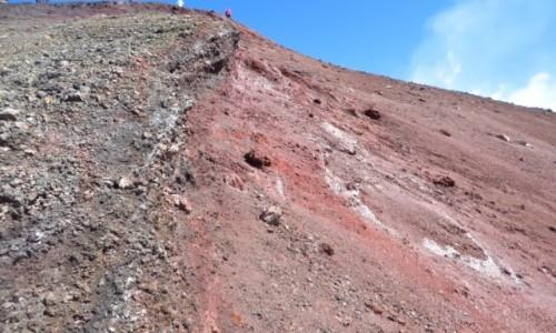 Zdjęcie WłOCHY / Sycylia / Etna / kolory Etny