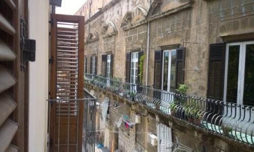 Zdjecie WłOCHY / Sycylia / Palermo / z okienka