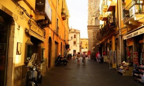 Zdjęcie WłOCHY / Sycylia / Taormina / Corso Umberto I