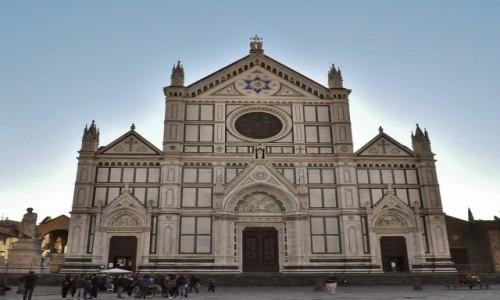 Zdjęcie WłOCHY / Toskania / Florencja / Florencja, franciszkański kościół Santa Croce