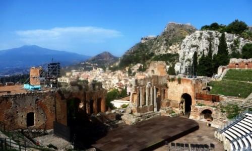 Zdjęcie WłOCHY / Sycylia / Taormina / teatr grecki
