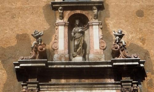 Zdjęcie WłOCHY / Sycylia / Taormina / kościół św. św. Katarzyny