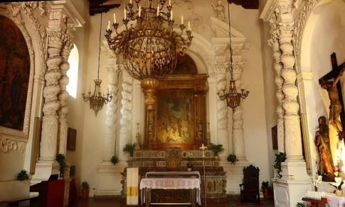 Zdjecie WłOCHY / Sycylia / Taormina / kościół św. Kat