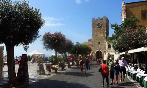 Zdjęcie WłOCHY / Sycylia / Taormina / Piazza IX Aprile