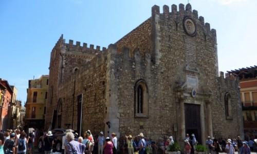 Zdjecie WłOCHY / Sycylia / Taormina / katedra