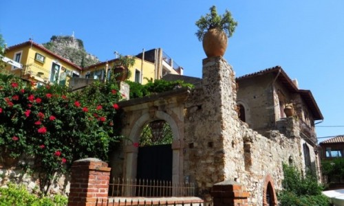 Zdjęcie WłOCHY / Sycylia / Taormina / architektura Taorminy