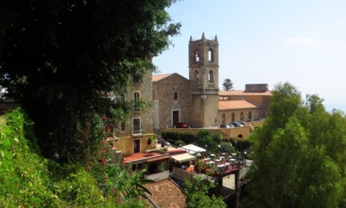 Zdjęcie WłOCHY / Sycylia / Taormina / klasztor Dominikanów