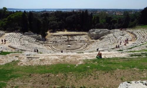 Zdjecie WłOCHY / Sycylia / Syrakuzy / teatr grecki