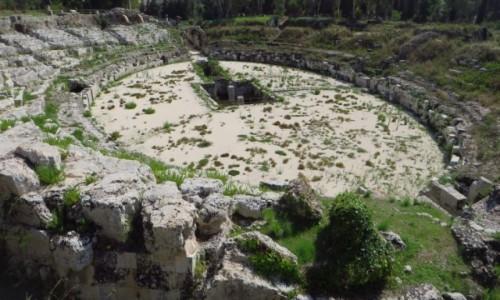 Zdjecie WłOCHY / Sycylia / Syrakuzy / amfiteatr rzyms