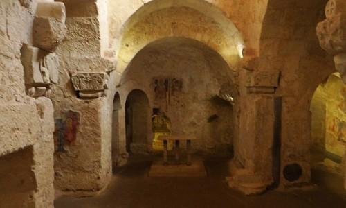 WłOCHY / Sycylia / Syrakuzy / krypta św. Marcina