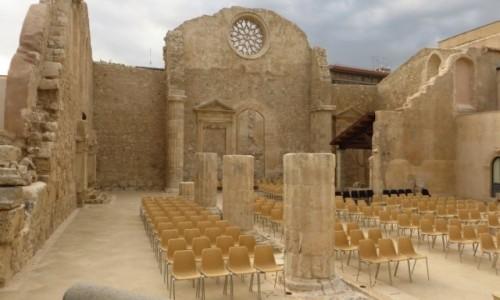 Zdjęcie WłOCHY / Sycylia / Syrakuzy / bazylika św. Jana