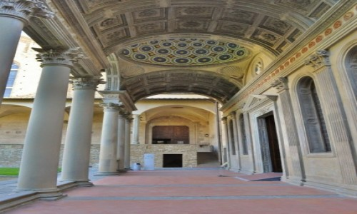 WłOCHY / Toskania / Florencja / Florencja. Kościół Santa Croce