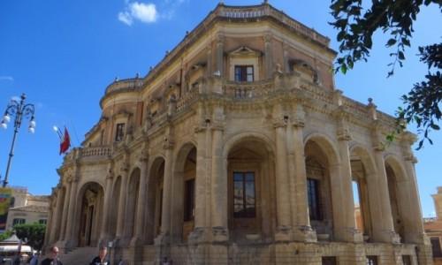 Zdjęcie WłOCHY / Sycylia / Noto / pałac Ducezio