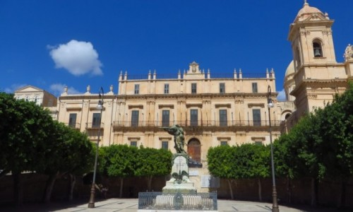 Zdjęcie WłOCHY / Sycylia / Noto / pałac biskupi