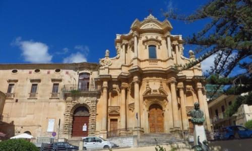 Zdjecie WłOCHY / Sycylia / Noto / kościół San Dom