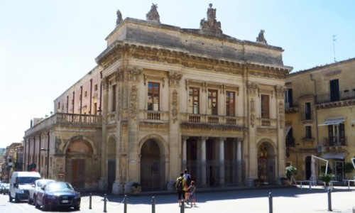 Zdjęcie WłOCHY / Sycylia / Noto / teatr miejski