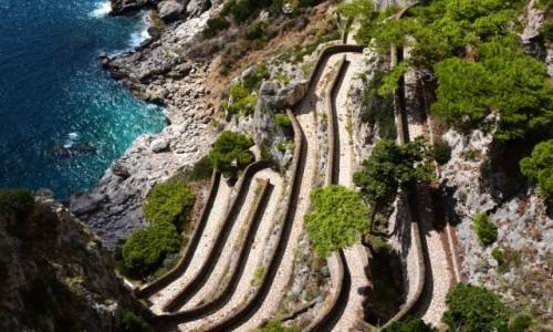 Zdjęcie WłOCHY / Zatoka Neapolitańska / Capri / via krupp