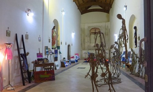 Zdjecie WłOCHY / Sycylia / Syrakuzy / galeria sztuki współczesnej