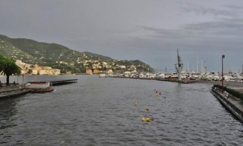 Zdjęcie WłOCHY / Liguria / Rapallo / Rapallo - panorama portu
