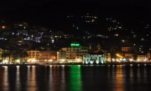 Zdjęcie WłOCHY / Liguria / Rapallo / Rapallo, brzeg
