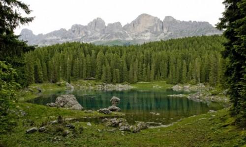 Zdjecie WłOCHY / Dolomity / Lago di Carreza / Piękno otaczającego nas świata.
