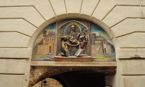 Zdjęcie WłOCHY / Umbria / Asyż / Asyż, dom narodzin św. Franciszka