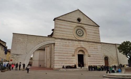 Zdjęcie WłOCHY / Umbria / Asyż / Asyż, bazylika św. Klary