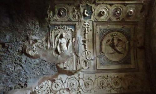 Zdjęcie WłOCHY / Kampania / Pompeje / antyczne płaskorzeźby