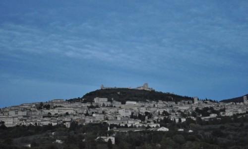 Zdjęcie WłOCHY / Umbria / Asyż / Asyż, wieczorową porą