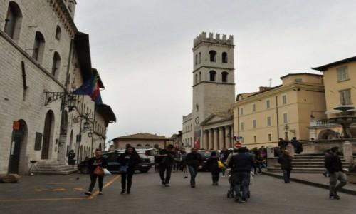 Zdjęcie WłOCHY / Umbria / Asyż / Asyż, centrum miasta