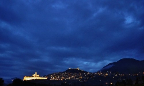 Zdjęcie WłOCHY / Umbria / Asyż / Pożegnenie z Asyżem.