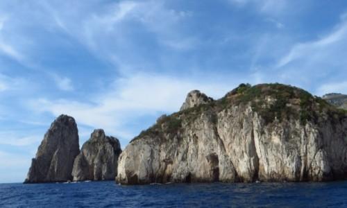 Zdjęcie WłOCHY / Kampania / Capri / wyspa od strony morza