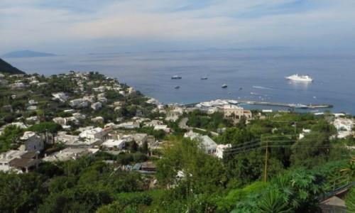 Zdjęcie WłOCHY / Kampania / Capri / panorama wybrzeża