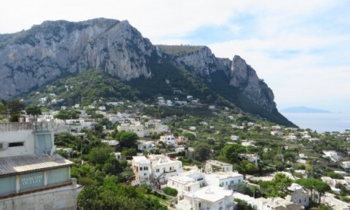 Zdjęcie WłOCHY / Kampania / Capri / panorama wyspy