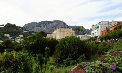Zdjęcie WłOCHY / Kampania / Capri / panorama miasta