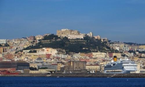 Zdjęcie WłOCHY / Kampania / Neapol / panorama miasta