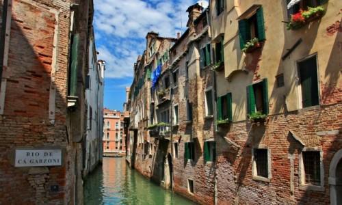 Zdjęcie WłOCHY / Wenecja Euganejska / Wenecja / Wenecja - Rio de Ca Galzoni