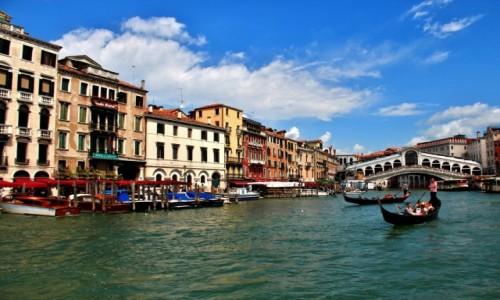 Zdjęcie WłOCHY / Wenecja Euganejska / Wenecja / Wenecja - Ponte di Rialto