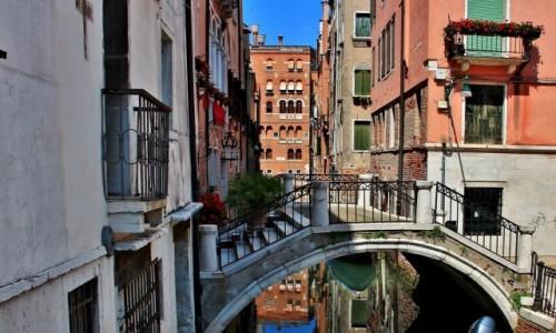 Zdjecie WłOCHY / Wenecja Euganejska / Wenecja / Wenecja - zaułek