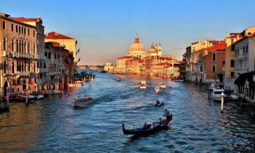 Zdjęcie WłOCHY / Wenecja Euganejska / Wenecja / Wenecja - w blasku zachodzącego