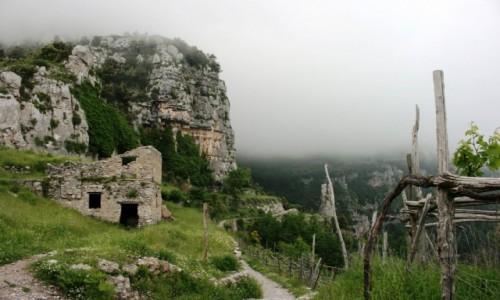 Zdjęcie WłOCHY / Sorrento / Sentiero degli Dei / Na granicy
