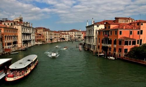 Zdjęcie WłOCHY / Wenecja Euganejska / Wenecja / Wenecja - Canal Grande