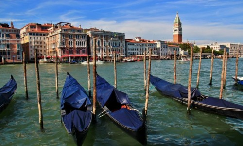 Zdjęcie WłOCHY / Wenecja Euganejska / Wenecja / Wenecja - gondole